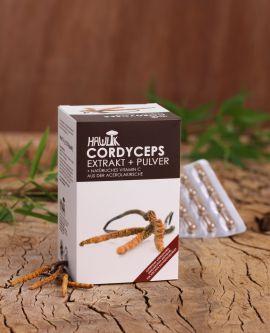 Cordyceps Extrakt+Pulver