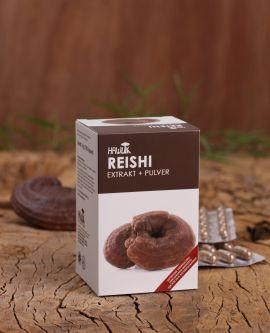 Reishi Extrakt + Pulver