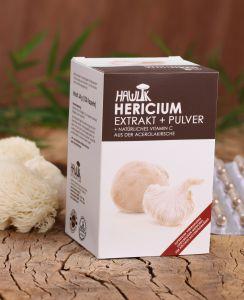 Hericium Extrakt + Pulver 120 Stk.
